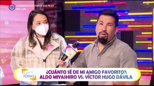 """Aldo Miyashiro y su mensaje a Natalie Vértiz: """"Deja que 'Yaco' juegue los sábados"""""""