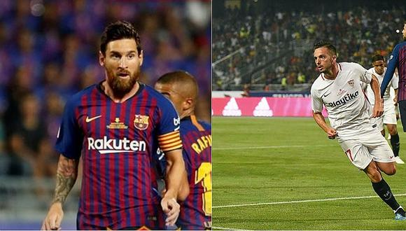 Los polémicos goles del Barcelona y Sevilla determinados por el VAR