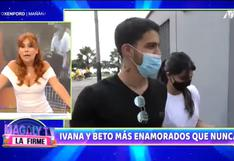 Magaly Medina aconseja a Ivana Yturbe y Beto Da Silva tras enterarse de su matrimonio