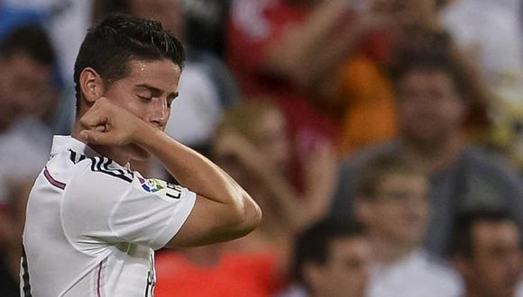 Lo que dijo James Rodriguez tras su primer gol con Real Madrid