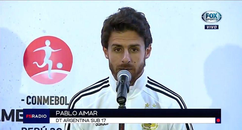 Pablo Aimar se pronunció sobre 'raro' partido entre Argentina y Ecuador