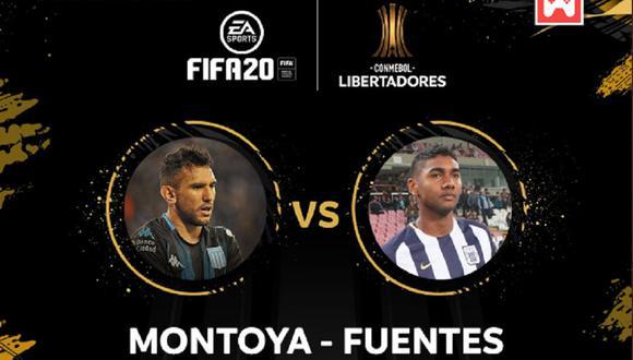El aliancista representará a sus colores en un partido imperdible ante el argentino. (Foto: Twitter Conmebol)