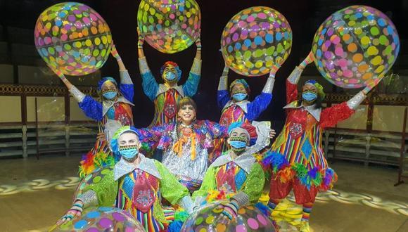 'Chola Chabuca' anuncia temporada de circo por Fiestas Patrias. (Foto: GRP Producciones).