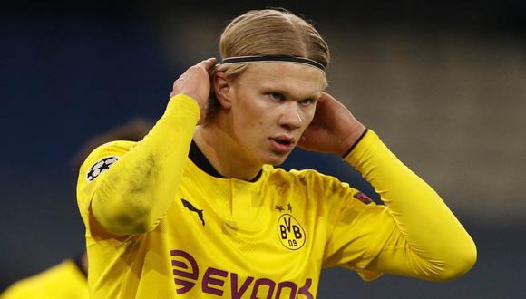 Erling Haaland sufrió un gran cambio físico tras sufrir una lesión cuando estaba en el Molde. (Foto: Reuters)