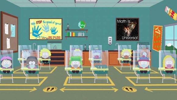 """""""South Park"""" emitirá un especial de una hora sobre la pandemia del coronavirus. (Foto: Comedy Central)"""
