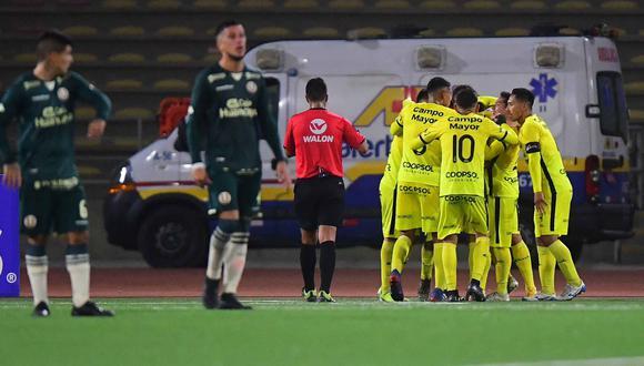Universitario no pudo con Coopsol y perdió 1-0, de esta manera los 'Cremas' quedaron eliminados de la Copa Bicentenario. (Foto: Liga 1)