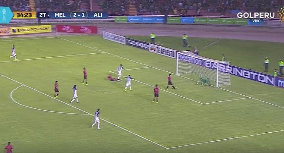 Janio Pósito marca doblete ante Melgar y le da vida a Alianza Lima [VIDEO]