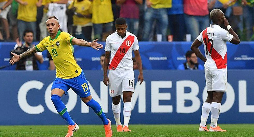 Selección peruana | Brasil rompe récord de 70 años tras paliza ante la 'bicolor' | FOTO