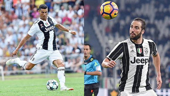 Higuaín culpa a Cristiano Ronaldo de no seguir en la Juventus por su llegada