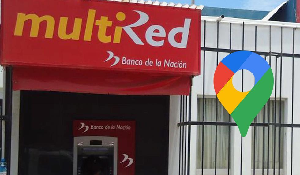 Entérate dónde hay un cajero Multired cerca a tu hogar para cobrar el Bono Independiente de 380 soles usando Google Maps. (Foto: Andina)