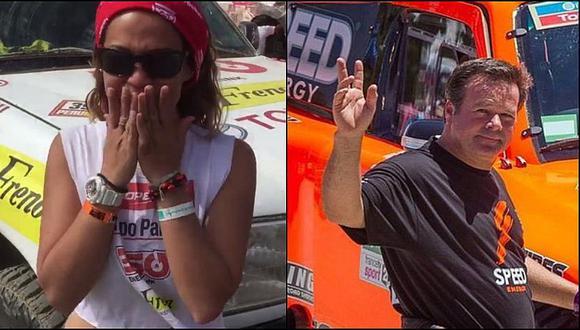 Dakar 2019: Fernanda Kanno impactada con la velocidad de Robby Gordon