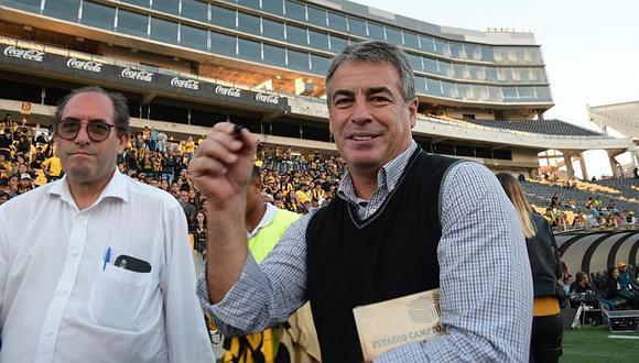 Pablo Bengoechea reapareció y fue homenajeado por Peñarol en Uruguay