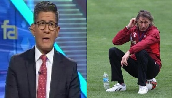 La crítica de Erick Osores a Ricardo Gareca por sorpresiva convocatoria