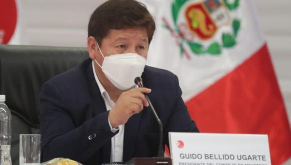 Guido Bellido también debe definir hoy con la presidenta del Congreso, María del Carmen Alva, la fecha para la presentación del gabinete. (Foto: PCM)