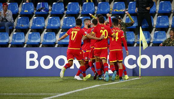 Luego de 56 derrotas consecutivas Andorra logró ganar en las Eliminatorias a la Eurocopa
