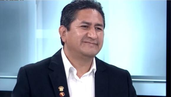 Vladimir Cerrón aseguró que el Estado peruano debe controlar los precios del mercado