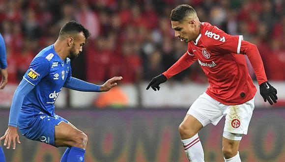 Inter goleó 3-0 a Cruzeiro gracias a un doblete de Paolo Guerrero y está en la final de la Copa de Brasil