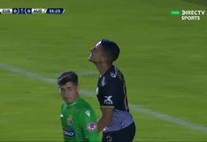Cusco FC vs. Audax Italiano: Aranda remeció el arco chileno con cabezazo al horizontal [VIDEO]