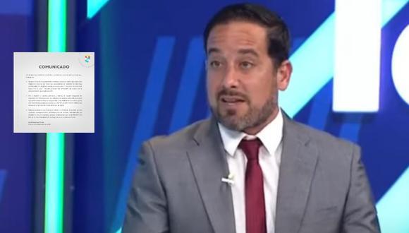 El panelista de Fútbol en América criticó el comunicado que emitió Sporting Cristal en donde pedía una sanción administrativa/económica para Ayacucho FC por presuntamente haber faltado a la regla