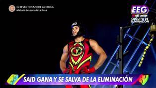 """Lucas Piro llegó a """"EEG"""" para retar a Said Palao pero no logró quedarse en el reality"""
