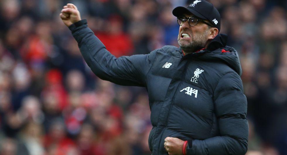 Jurgen Kloop, el artífice de este gran año de Liverpool en Premier League. (Foto. AFP)