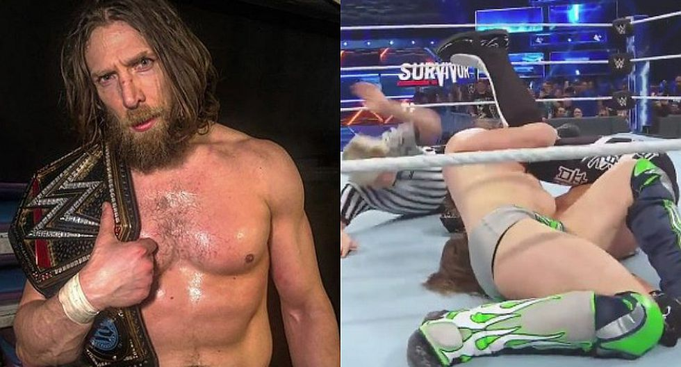 WWE: Daniel Bryan rompe reinado de 371 días de AJ Styles [VIDEO]
