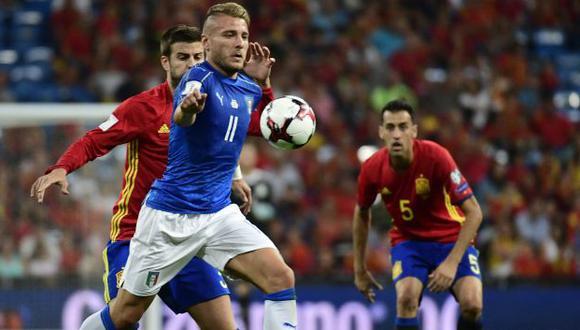 España e Italia se verán las caras para definir al primer finalista de la Eurocopa 2021. (Foto: AFP)