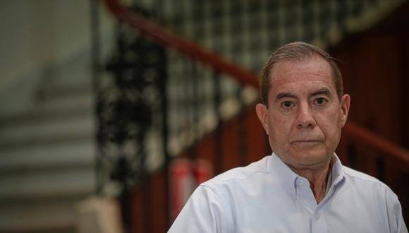 """Walter Martos consideró que el Parlamento debería preocuparse """"en la problemática nacional que es la lucha contra la pandemia"""".(Foto: Hugo Pérez / GEC)"""