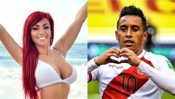 Deysi Araujo aseguró que celebró el gol que Christian Cueva le hizo a Venezuela.
