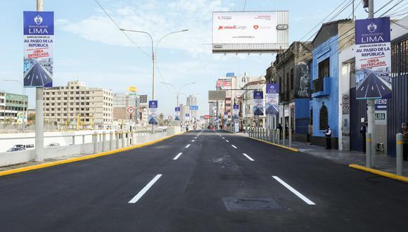 La Municipalidad de Lima detalló que la obra demandó casi S/5 millones de inversión. (Foto: MML)