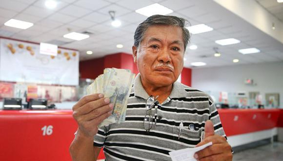 Desde el próximo 11 de enero, los jubilados tendrán el beneficio de poder adquirir 930 soles como parte de un subsidio. Conoce aquí las fechas en las que se repartirá este nuevo bono.  (Foto: Andina)