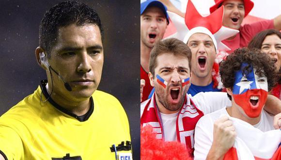 Diego Haro también fue criticado por los jugadores chilenos.