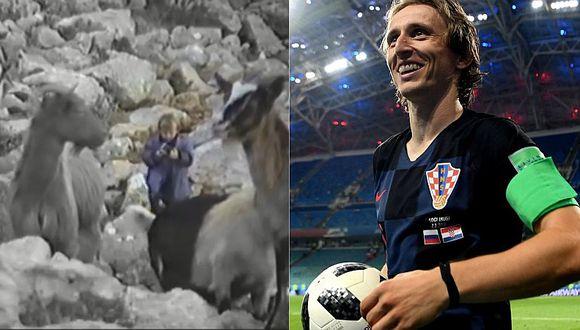 Luka Modric y el insólito oficio que realizaba durante la guerra