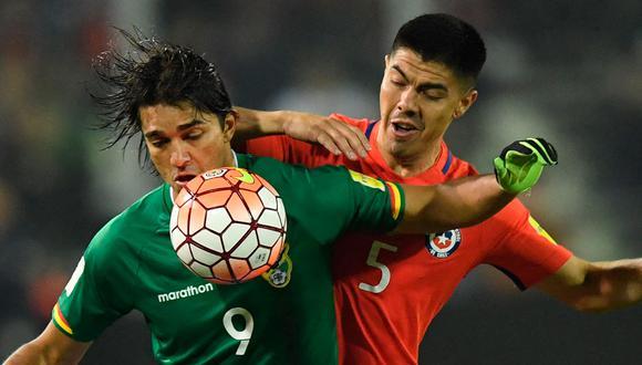 Chile vs Bolivia juegan en El Teniente Rancagua por un amistoso FIFA. Conoce aquí los canales TV y links para descargar app móviles y disfrutar del partid de fútbol en vivo y en directo. (Foto: AFP)