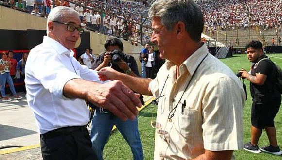 Pablo Bengoechea dirigió su último partido en Alianza Lima, ante Universitario de Gregorio Pérez. (Foto: GEC)
