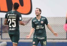 Universitario venció 1-0 San Martín por la Liga 1