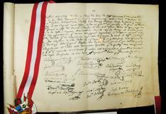 Datos históricos del acta de Declaración de la Independencia, conócelos