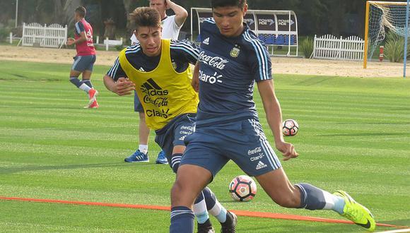 Bruno Amione, el héroe de la clasificación de Argentina Sub 17 y rival de Perú