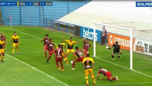 El gol de José Sánchez en Universitario vs. Cantolao. (Video: GOLPERU)