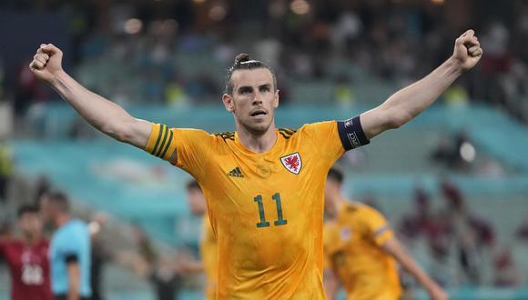 Gareth Bale anotó su primer gol de LaLiga Santander 2021-22 ante el Levante. (Foto: AP)