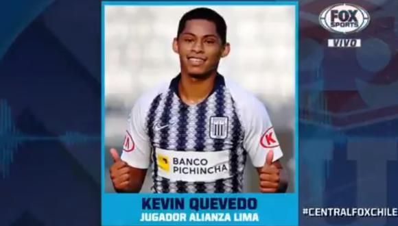 """Kevin Quevedo a Fox Sports Chile: """"La 'U' es un equipo importante, ahí estuvo Rauidíaz""""   VIDEO"""