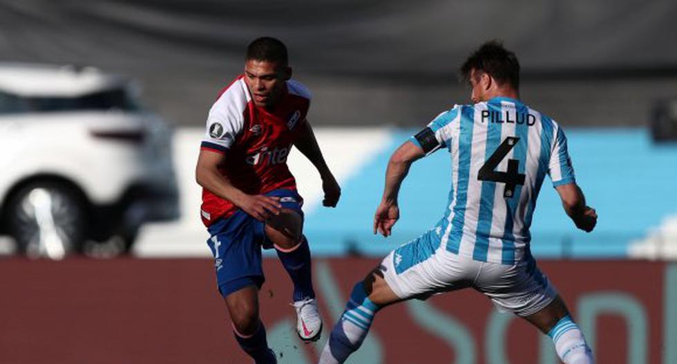Nacional derrotó 1-0 a Racing por el grupo F de la Copa Libertadores