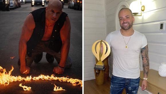 Vin Diesel y Nacho dieron a comunicar a sus seguidores que están trabajando en una colaboración, pero no indicaron de qué se trata. (Foto: Instagram / @vindiesel / @nacho).