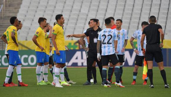 Conmebol confirmó la suspensión del Argentina vs. Brasil por las Eliminatorias. (Foto: AFP)