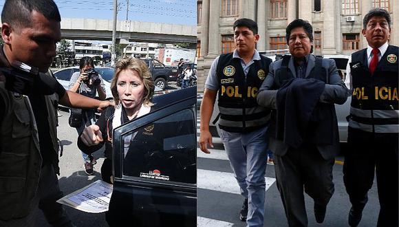 Fiscalía realiza reconocimiento al inmueble de Edwin Oviedo