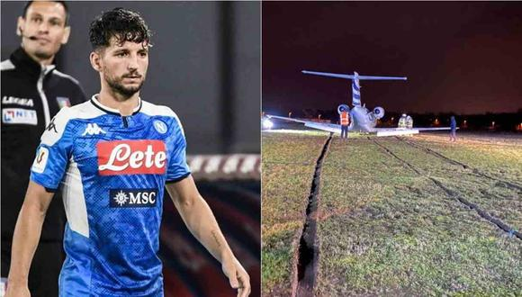 Dries Mertens, jugador del Napoli, vivió un momento complicado el último fin de semana. (Foto: AFP / HLN)