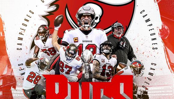 Con un Tom Brady endiablado, los Buccaneers apabullaron a los Chiefs y son los nuevos campeones de la NFL