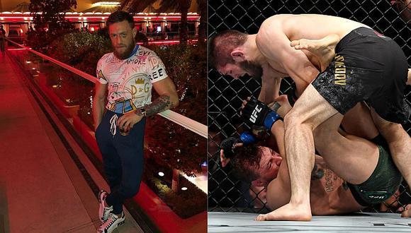 Conor McGregor y su contundente mensaje tras su ruidosa derrota ante Nurmagomedov