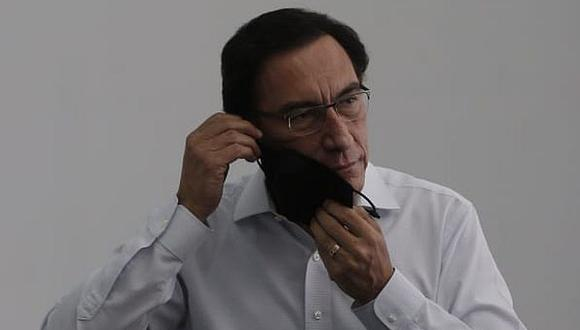 El expresidente de la República es el cabeza de lista de Somos Perú. (Andrés Paredes / GEC)