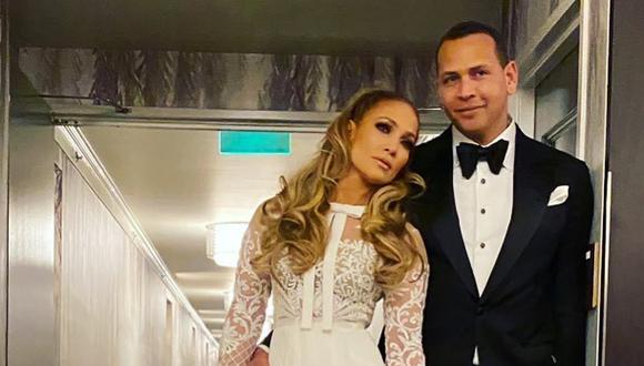 Jennifer Lopez y Alex Rodríguez respaldan candidatura de Joe Biden. (Fotos: Instagram)